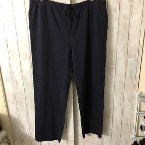 Dark blue lounge pants 3XLT